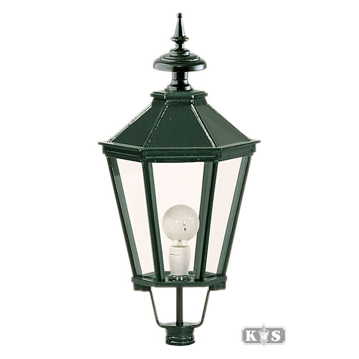 Løse lamper med kobbertoppe, firkantede eller sekskantede lamper ...