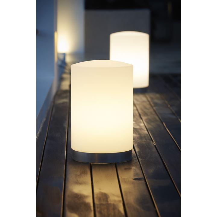drum outdoor lampe cane line hvid. Black Bedroom Furniture Sets. Home Design Ideas