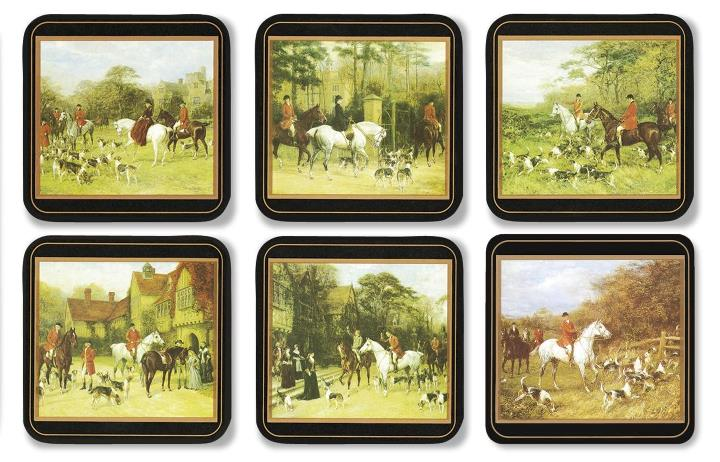 Pimpernel Coasters